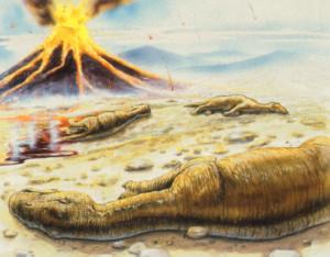 volcanes extinguen a los dinosaurios