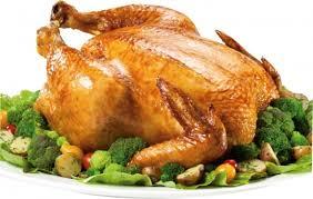 Pollo tambien llamado Chester Festivo