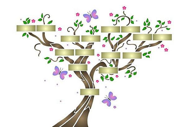 Descubre c mo se hace un rbol geneal gico con tus - Ideas para hacer un arbol genealogico ...
