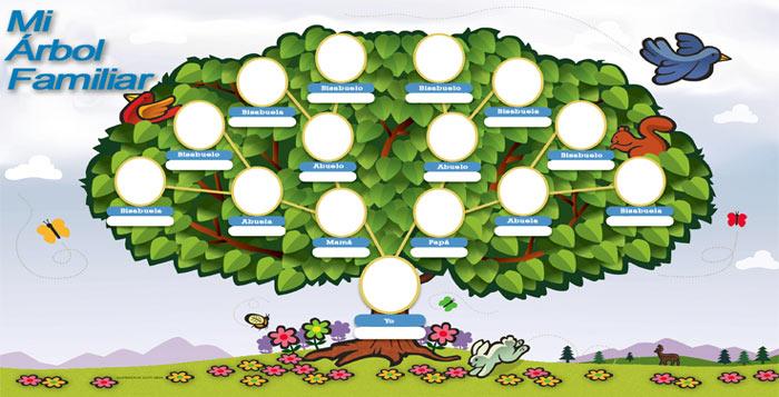 Descubre c mo se hace un rbol geneal gico con tus for Nombres de arboles en ingles